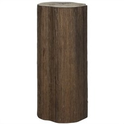 Safavieh Arnel Bayur Wood Log Stool in Brown
