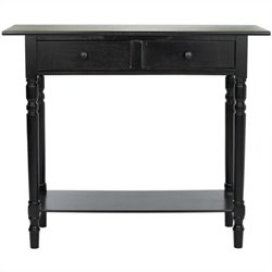 Safavieh Gary Wood Console in Black
