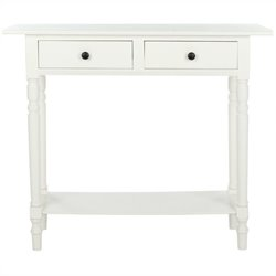Safavieh Gary Wood Console in Cream