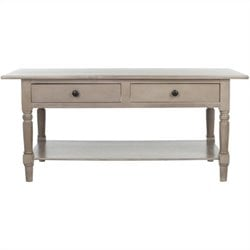 Safavieh Bosco Wood Coffee Table in Grey