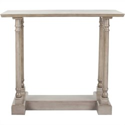 Safavieh Andy Wood Console Table in Grey