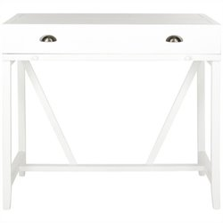 Safavieh Wyatt Pine Writing Desk in White