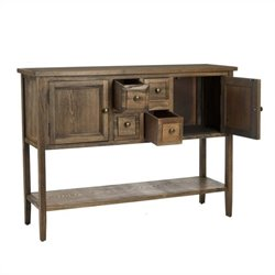 Safavieh Charleston Sideboard in Oak
