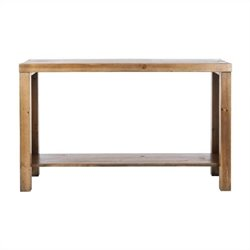 Safavieh Tori Fir Wood Console in Oak