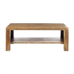 Safavieh Lahoma Wood Coffee Table in Oak