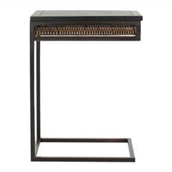 Safavieh Duncan Pine Wood Accent Table in Brown