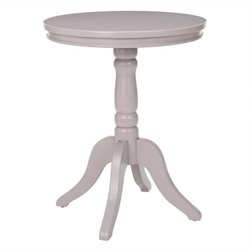 Safavieh Juliet Pine Wood Side Table in Grey