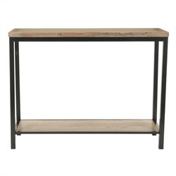 Safavieh Brandon Elm Wood Console in Brown