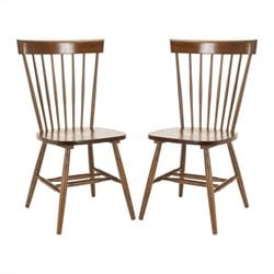 Safavieh Joslyn Oak  Dining Chair in Oak (Set Of 2)
