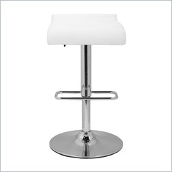 Safavieh Hugo Gas Lift Stool in Black