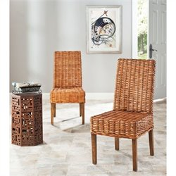 Safavieh Judith Mango Wood Side Chair in Honey (Set Of 2)