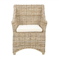 Safavieh Mollie Arm Chair in Tan