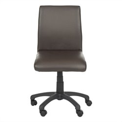 Safavieh Hal Desk Office Chair in Brown