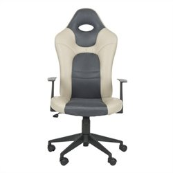Safavieh Belinda Desk Office Chair in Grey