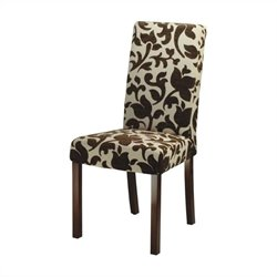 Safavieh Hutchinson Upholstered Chair in Creme (Set of 2)