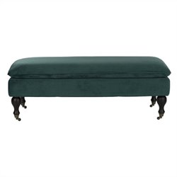 Safavieh Hampton Birch Wood Pillowtop Bench