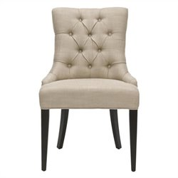 Safavieh Diego Birch Wood Chair in Beige