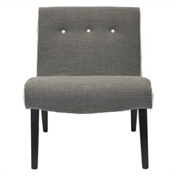 Safavieh Khloe Birch Wood Chair in Grey