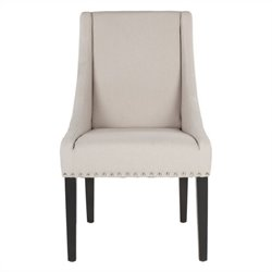 Safavieh Jordan Beech   Dining Chair in Beige (Set Of 2)