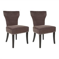 Safavieh Maria  Birch  Dining Chair in Brown (Set Of 2)