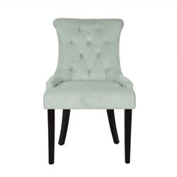 Safavieh Bowie Birch Wood Side Chair in Light Blue (Set Of 2)