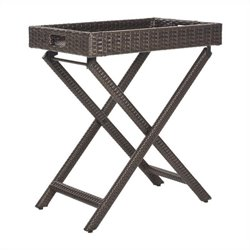 Safavieh Bardia Tray Table in Brown