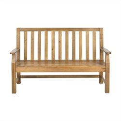 Safavieh Indaka Acacia Bench in Natural