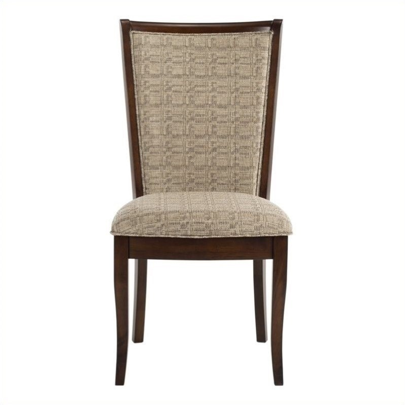 Safavieh Tyrone Dining Chair in Beige (Set of 2)