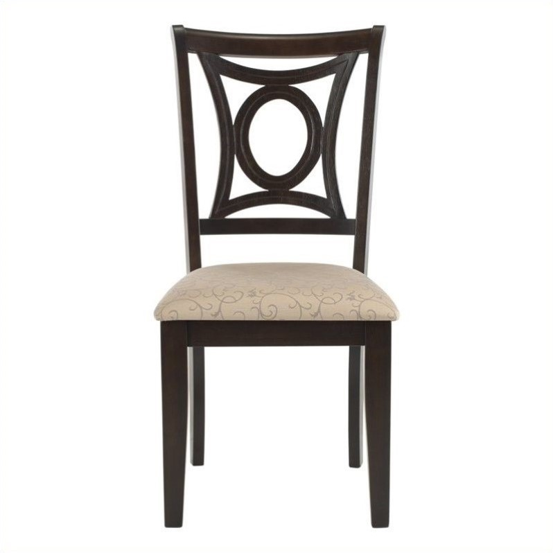 safavieh sophia dining chair in taupe set of 2 sea3005a set2
