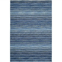 Safavieh Himalaya Rectangle Rug in Blue / Multi - 4' X 6'