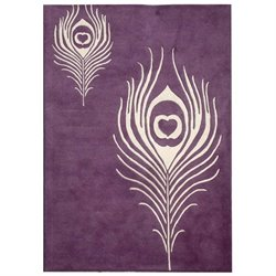 Safavieh Soho Accent Rug in Purple / Ivory