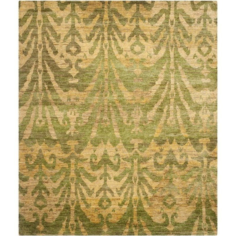 Safavieh Bohemian Green Contemporary Rug - 5' x 8'