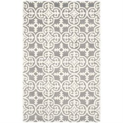 Safavieh Chatham Dark Grey Contemporary Rug - 2' x 3'