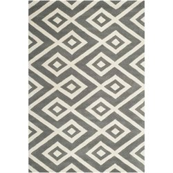 Safavieh Chatham Dark Grey Contemporary Rug - 3' x 5'
