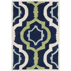 Safavieh Chatham Dark Blue Contemporary Rug - 2' x 3'
