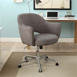 Serta At Home Valetta Home Office Chair in Dovetail Gray