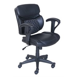 Serta at Home Accucell Task Chair in Black