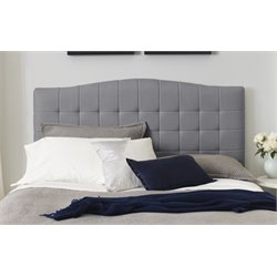 Serta Luna Panel Headboard in Ash Gray