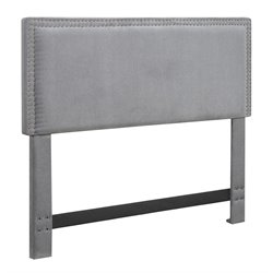 Serta Nova Panel Headboard in Slate Gray