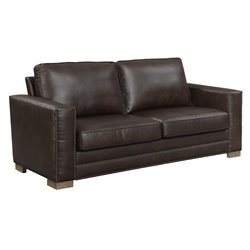 Serta Mason Bonded Leather Sofa-SH7