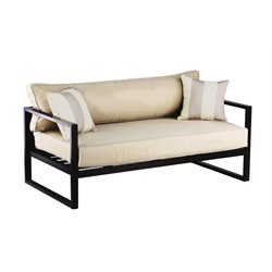 Serta Catalina Patio Sofa with Cushions in Bronze