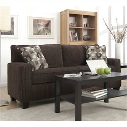Serta San Paolo Sofa in Mink Brown Fabric