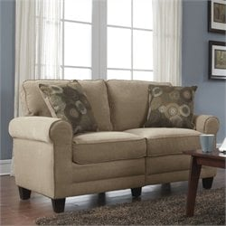 Serta Copenhagen Love Seat in Vanity Fabric