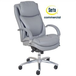Serta at Home Wellness by Design Air Commercial Series 100 Executive Office Chair in Grey