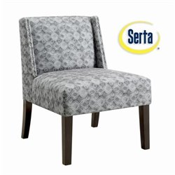Serta at Home Somerset Accent Chair in Vivendo Gray