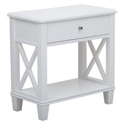 MER-1242 Open 'X' Leg Side Table