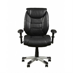 Sealy Posturepedic Memory Foam Chair in Black