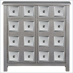 PRI Door Accent Chest in Silver