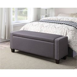 PRI Sto Bedroom Bench In Trespass Slate