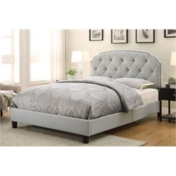 PRI Queen Platform Bed in Trespass Marmor